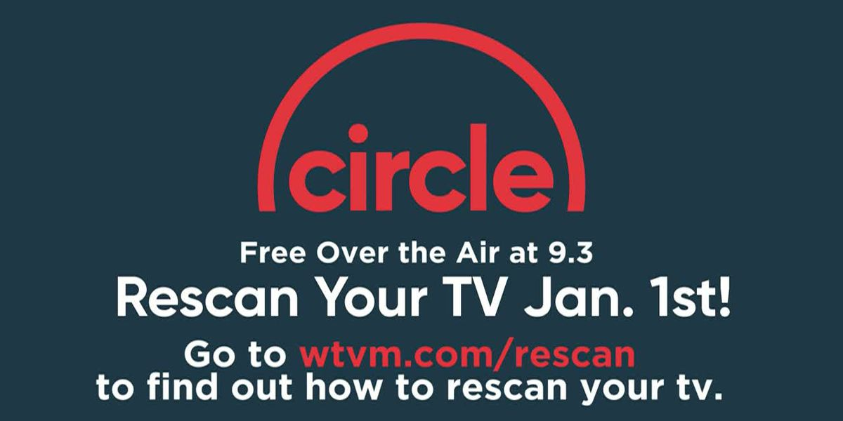 Rescan your Antenna January 1st