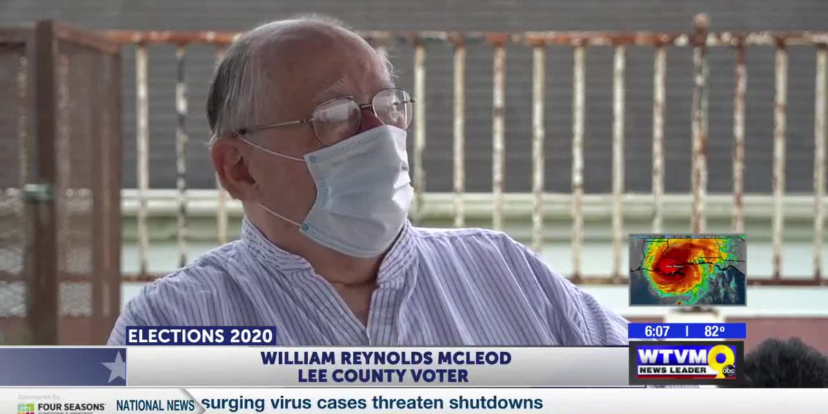 80-year-old Lee Co man determined to cast ballot despite obstacles