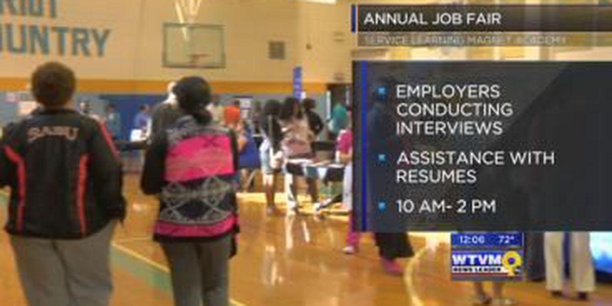 Columbus school hosts job fair Thursday