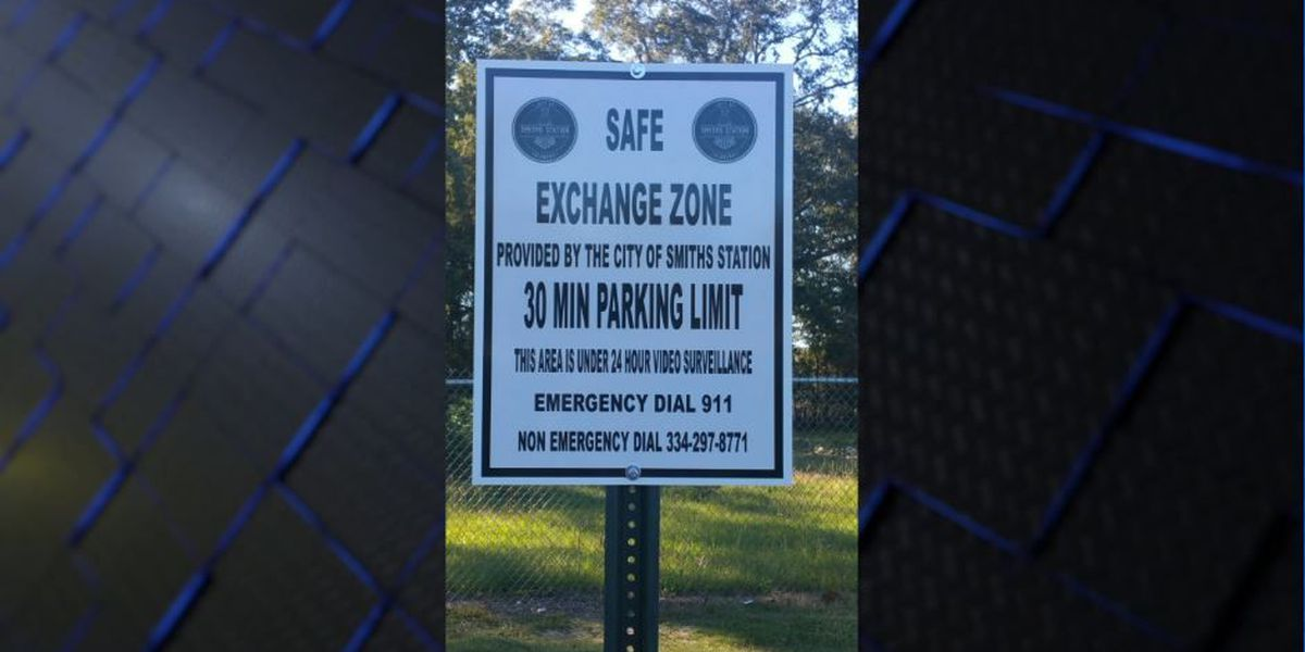 Smiths Station creates safe exchange zone for online sales