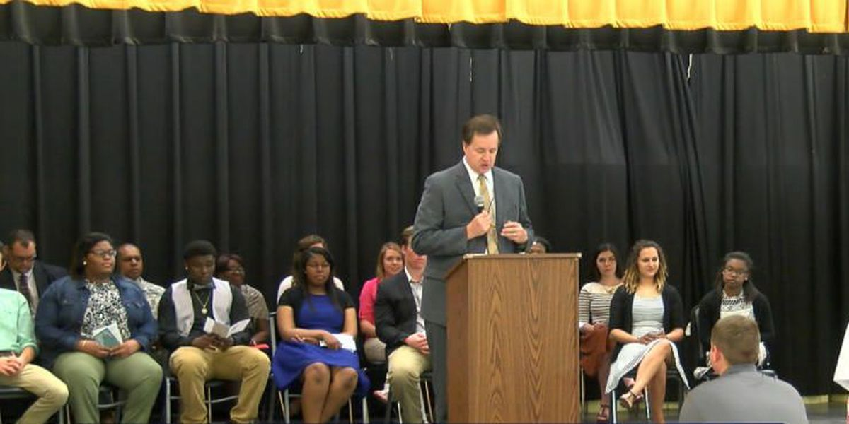 Superior Court judge addresses Chattahoochee County High School students