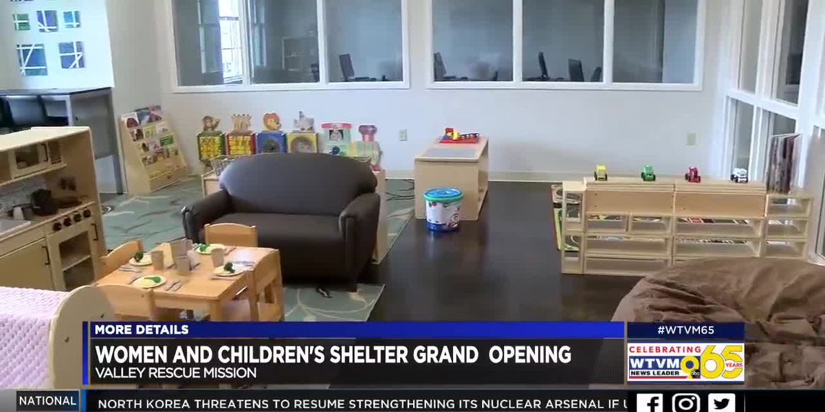 Valley Rescue Mission opens new women's shelter