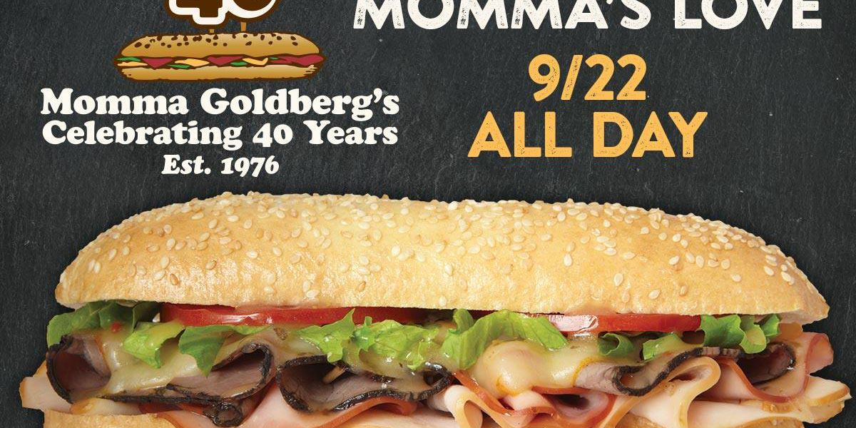 Momma Goldberg's Deli dishes out special on 40th anniversary