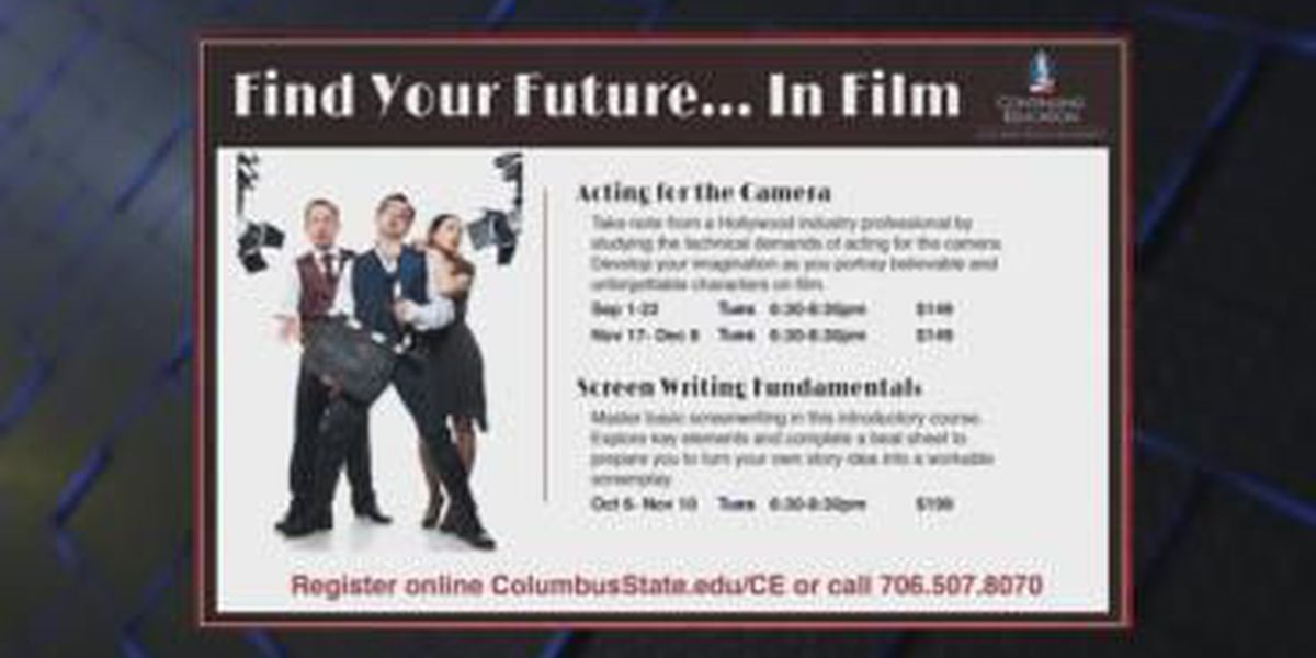 SEGMENT: CSU's 'Find Your Future in Film' class