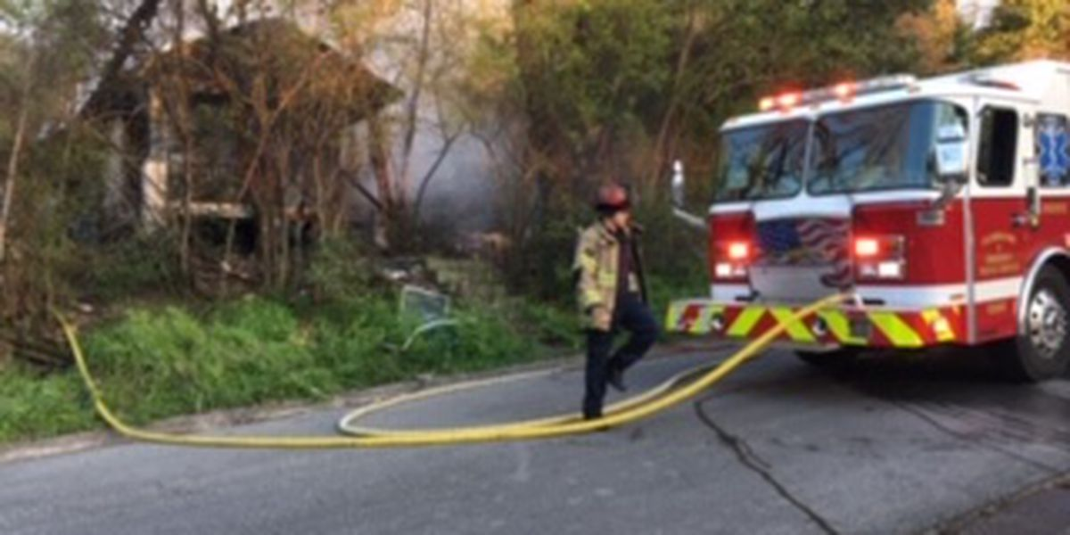 Fire crews battling house fire near 5th Ave. and 23rd St. in Columbus