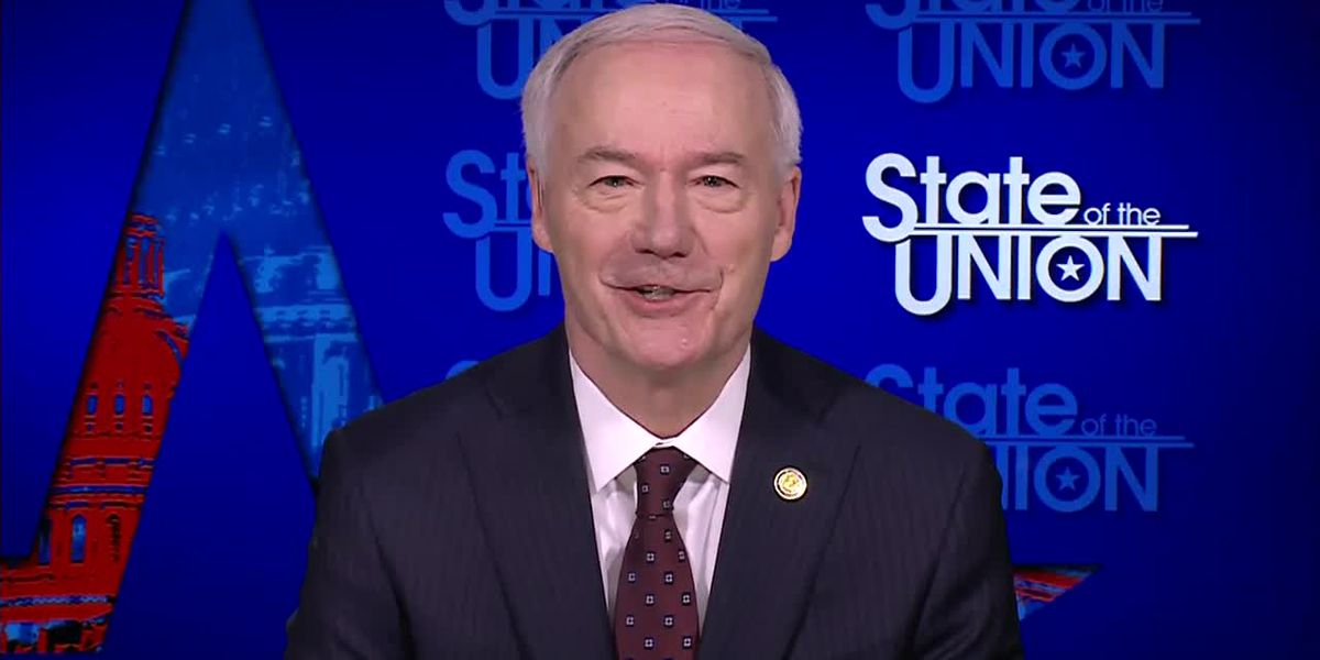 Arkansas Gov. Asa Hutchinson addresses Trump's attacks on GOP leaders