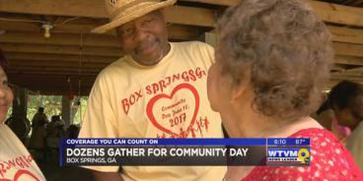 Dozens gather for Box Springs Community Day