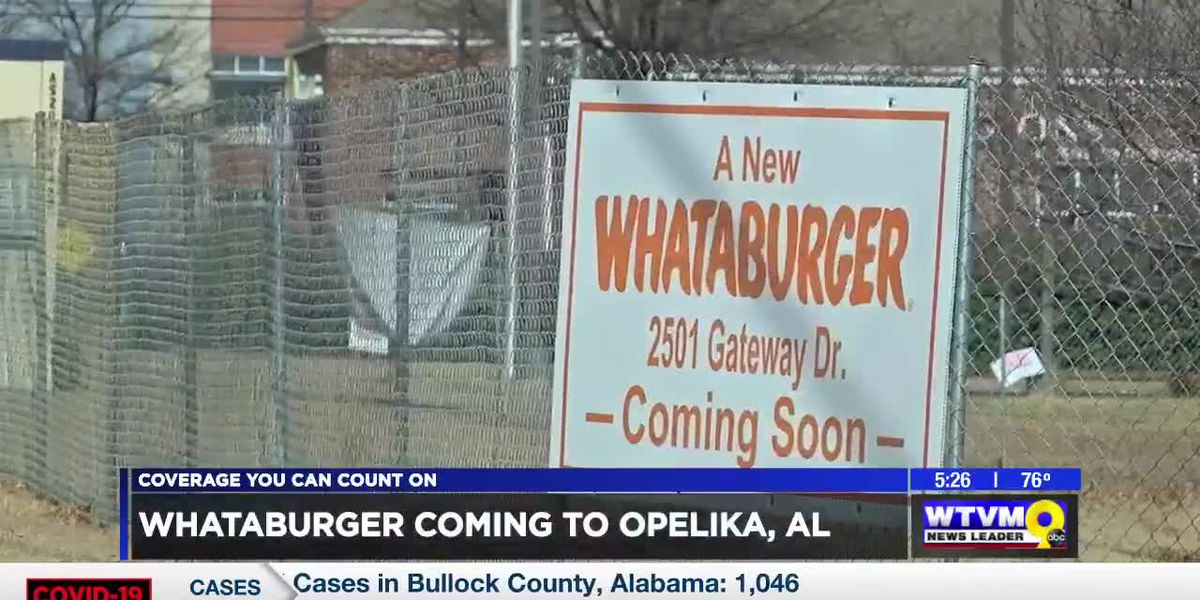 Whataburger coming to Opelika