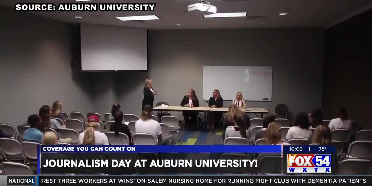 Students learn first-hand from journalists during AU Journalism Day