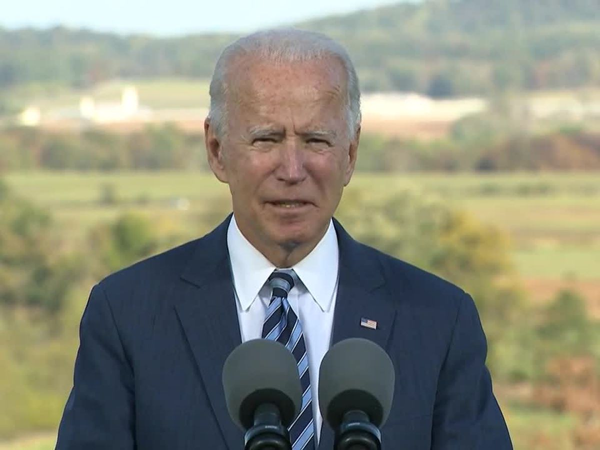Presidential candidate Joe Biden to campaign in Warm Springs, Ga. a week before election