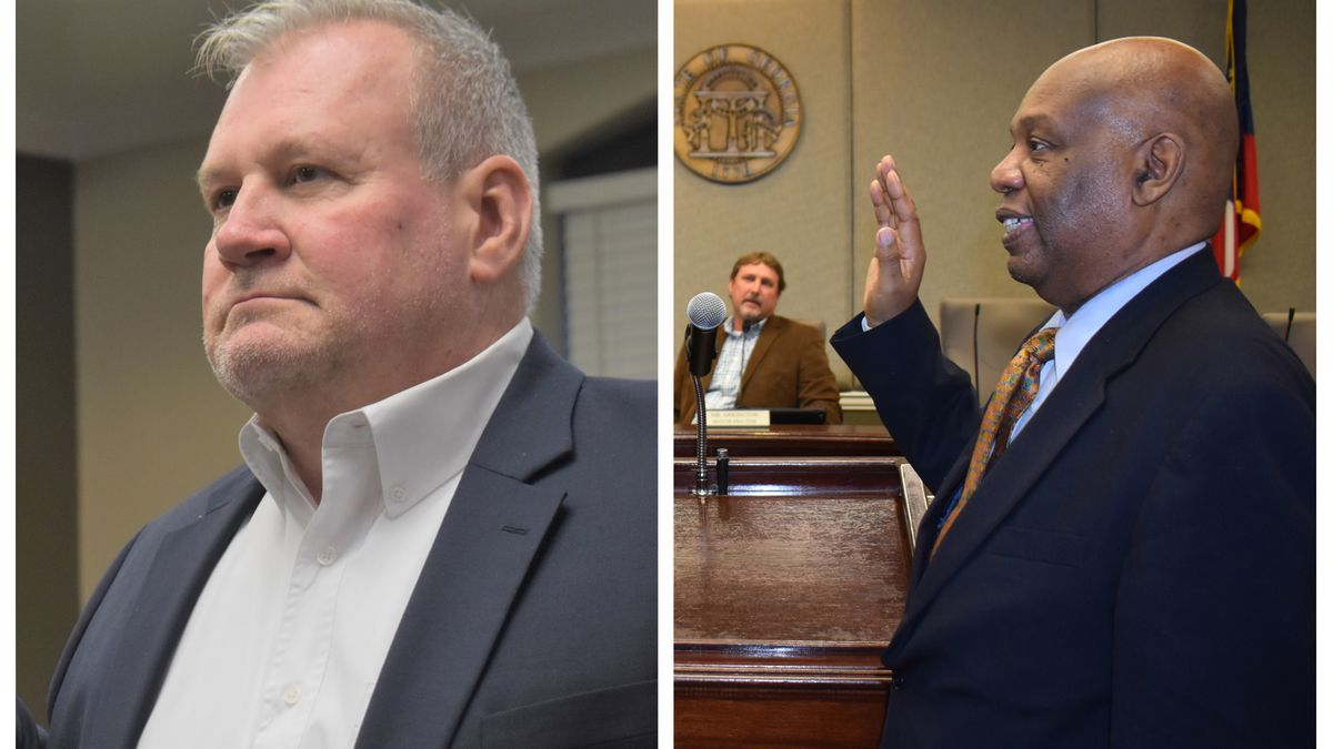 Two LaGrange City Council members sworn into office