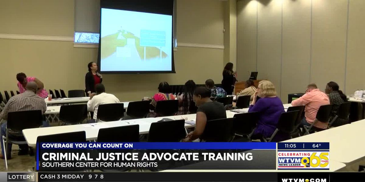 Criminal Justice Reform Advocacy Training held in Columbus