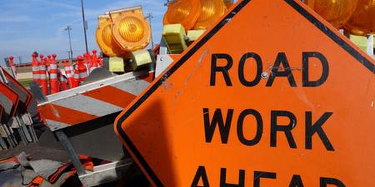 CCTV system, guardrail construction closes J.R. Allen lane through August