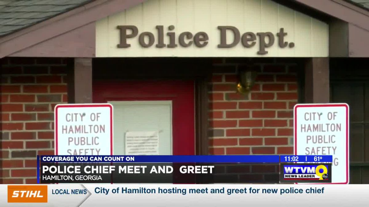 City of Hamilton hosting meet and greet for new police chief
