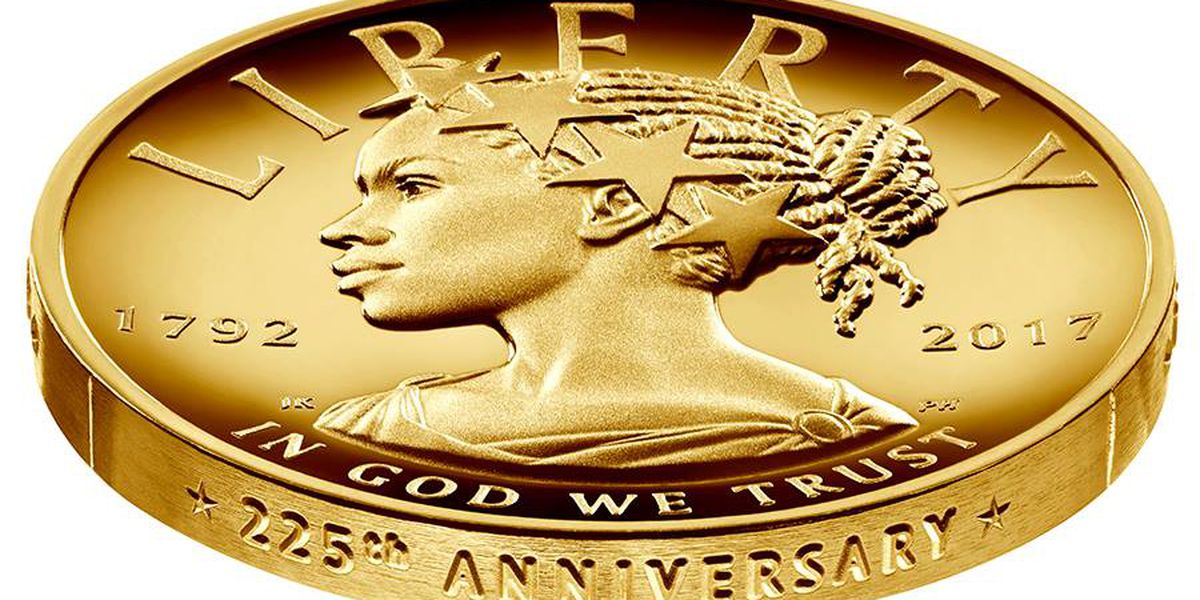 Lady Liberty portrayed as African-American for the first time on minted coin