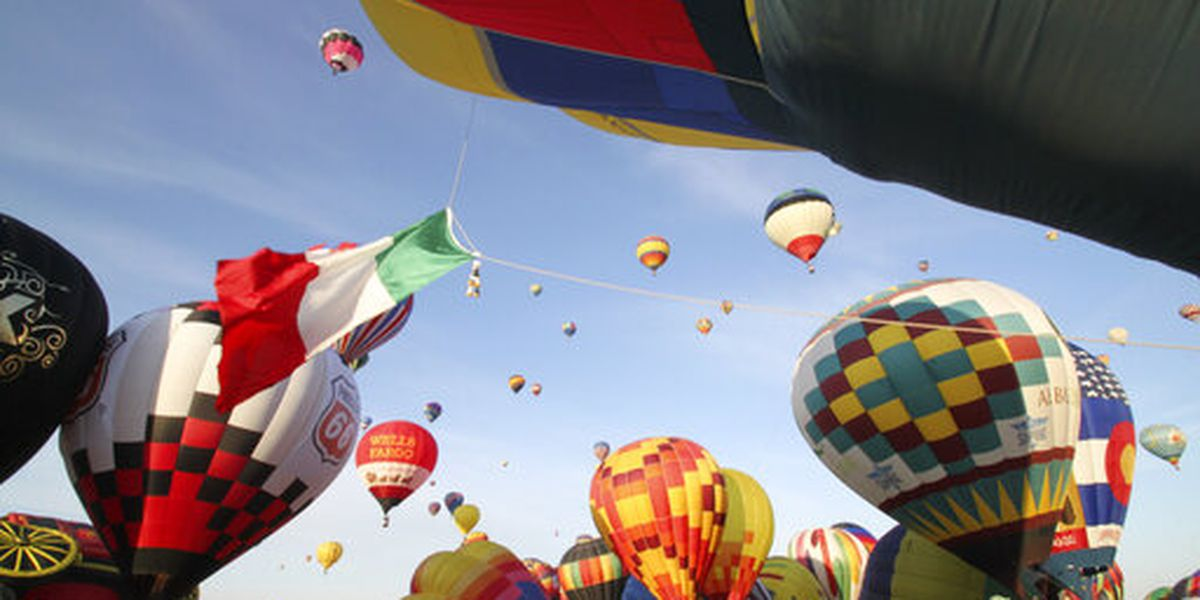 International balloon fiesta ready to lift off in New Mexico