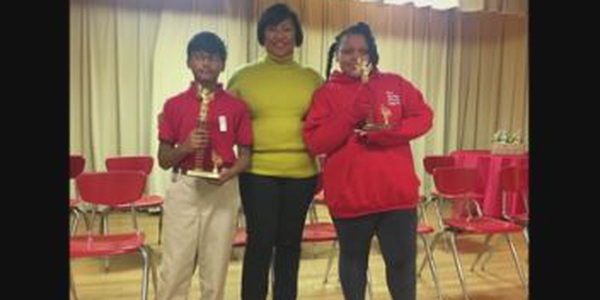 2 Reese Road Leadership Academy students heading to regional spelling bee