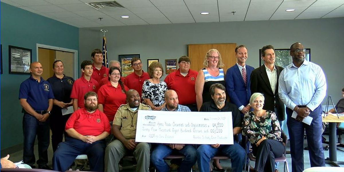 Thunder in the Valley presents checks to community organizations