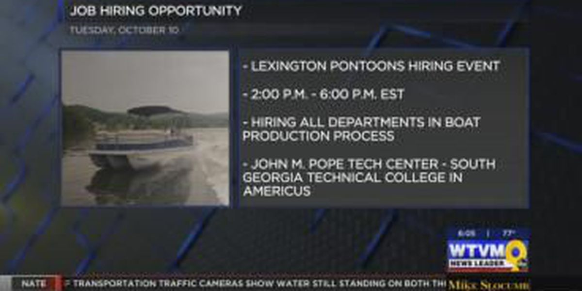 Boat manufacturer hosts job fair in Americus Tuesday