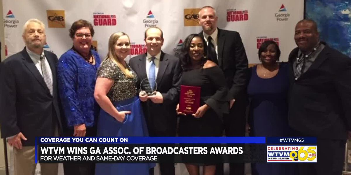 WTVM employees win two GABBY Awards at the GAB annual convention