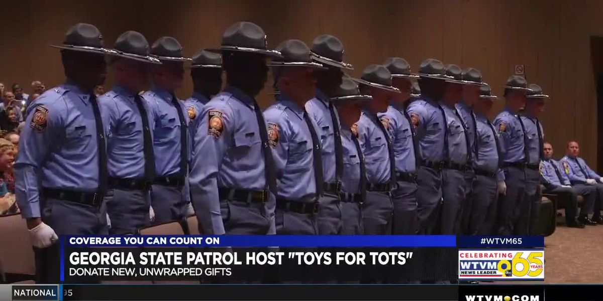 Georgia State Patrol hosts 10th Annual Toys for Tots