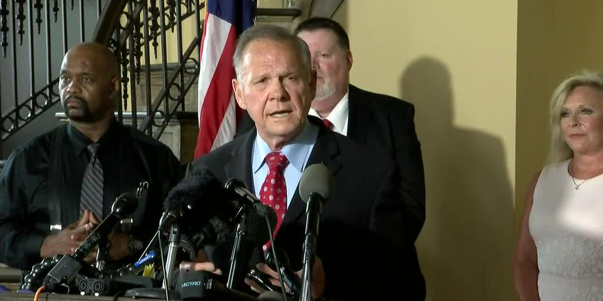 Roy Moore announces he's running again for US Senate