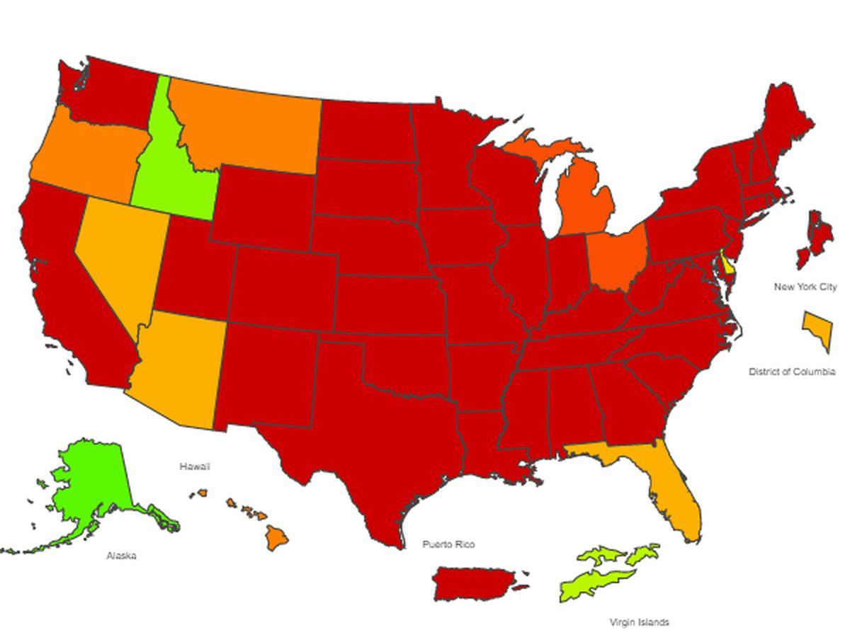 US flu outbreak eases, deaths hit 16K