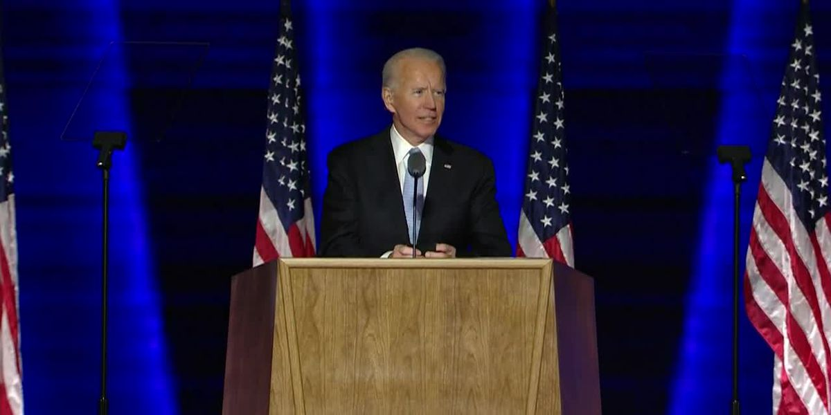 President-elect Joe Biden says if Americans wear masks for 100 days it will make a major difference