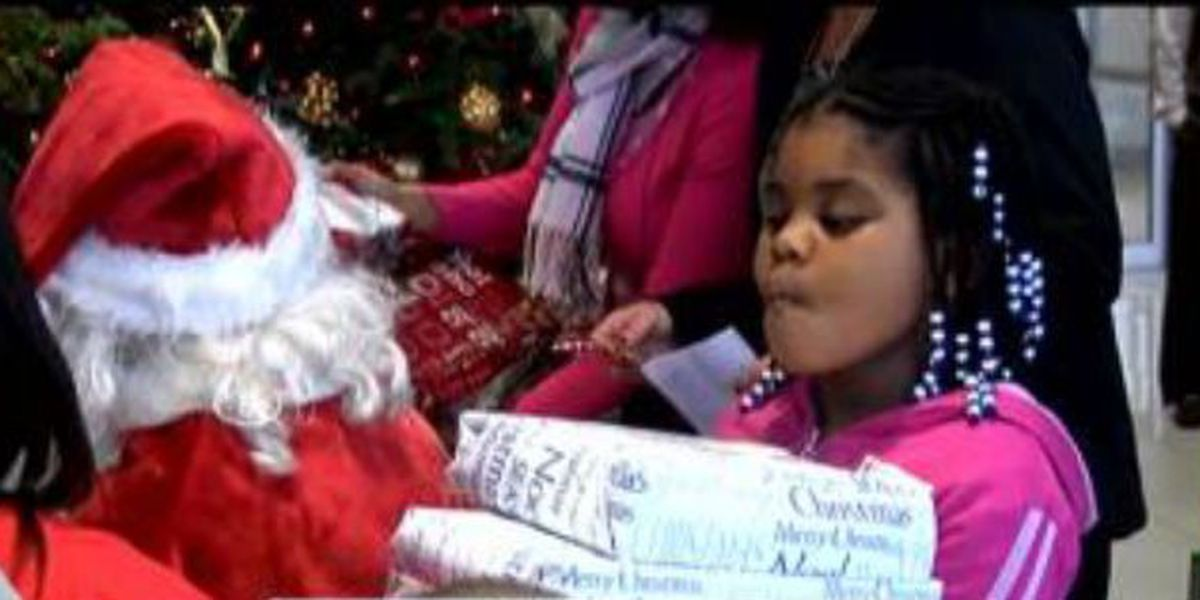 Local organization donates food, gifts to less fortunate