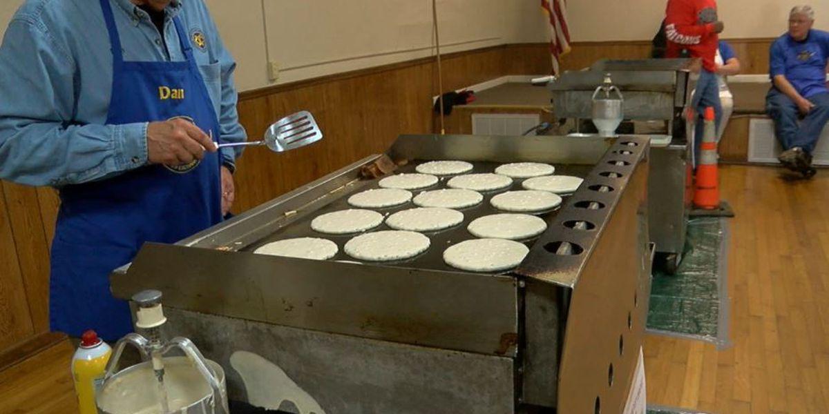 Exchange Club of Columbus hosts Pancake Jamboree
