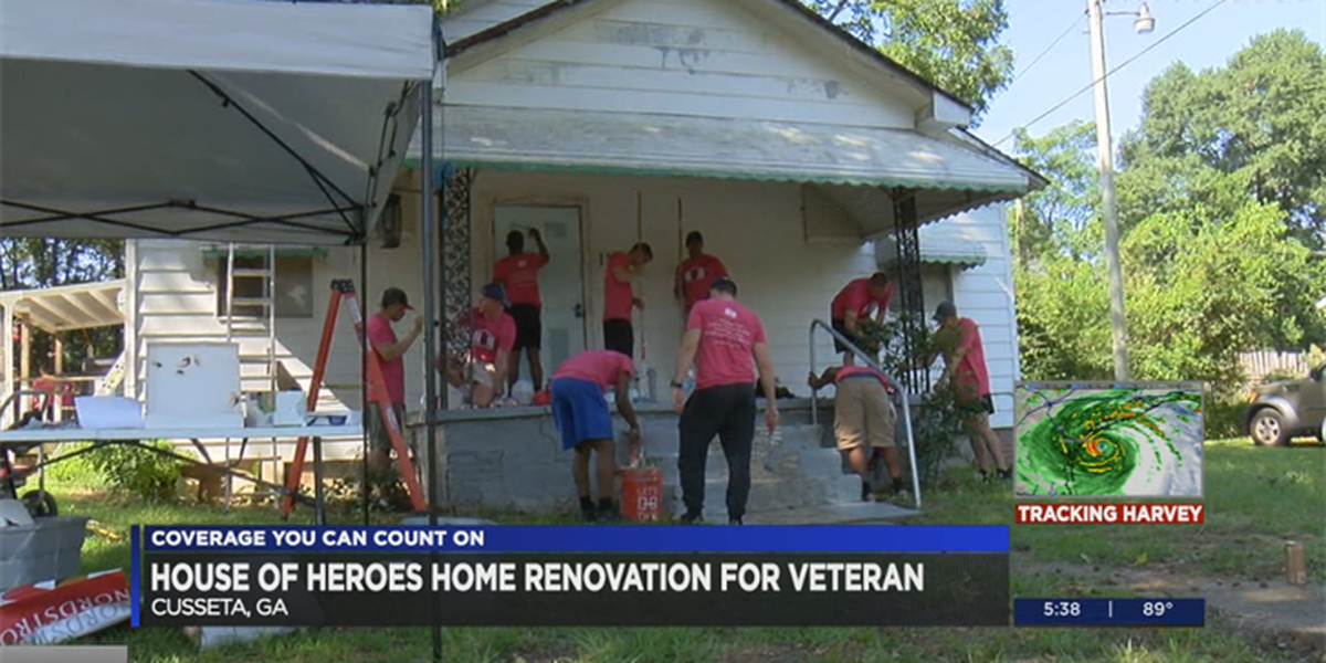 House of Heroes renovates home for late veteran's widow