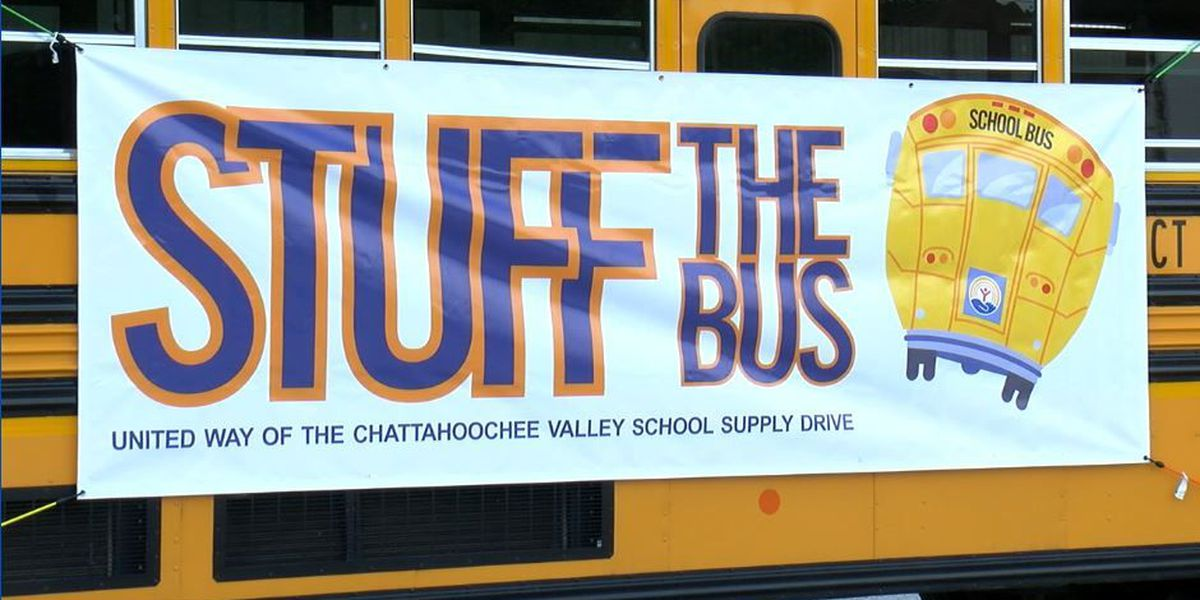 Final celebration of United Way's Stuff The Bus initiative