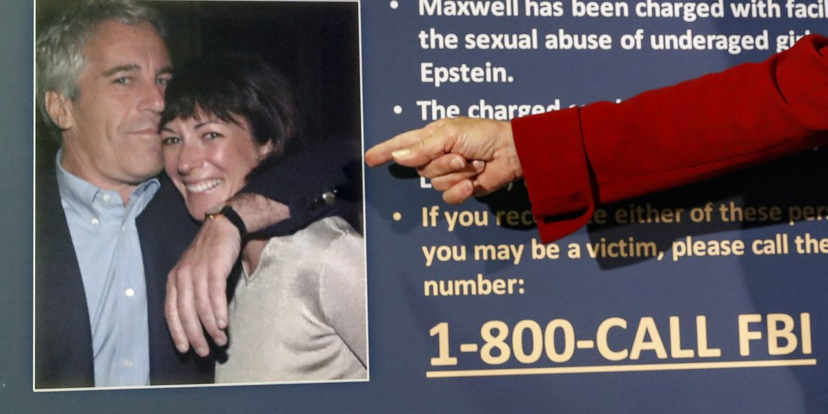 AP source: Feds feared Epstein confidante might kill herself