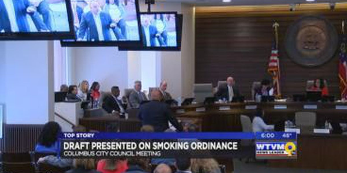 Columbus businesses fire back after smoking ordinance presented at city council
