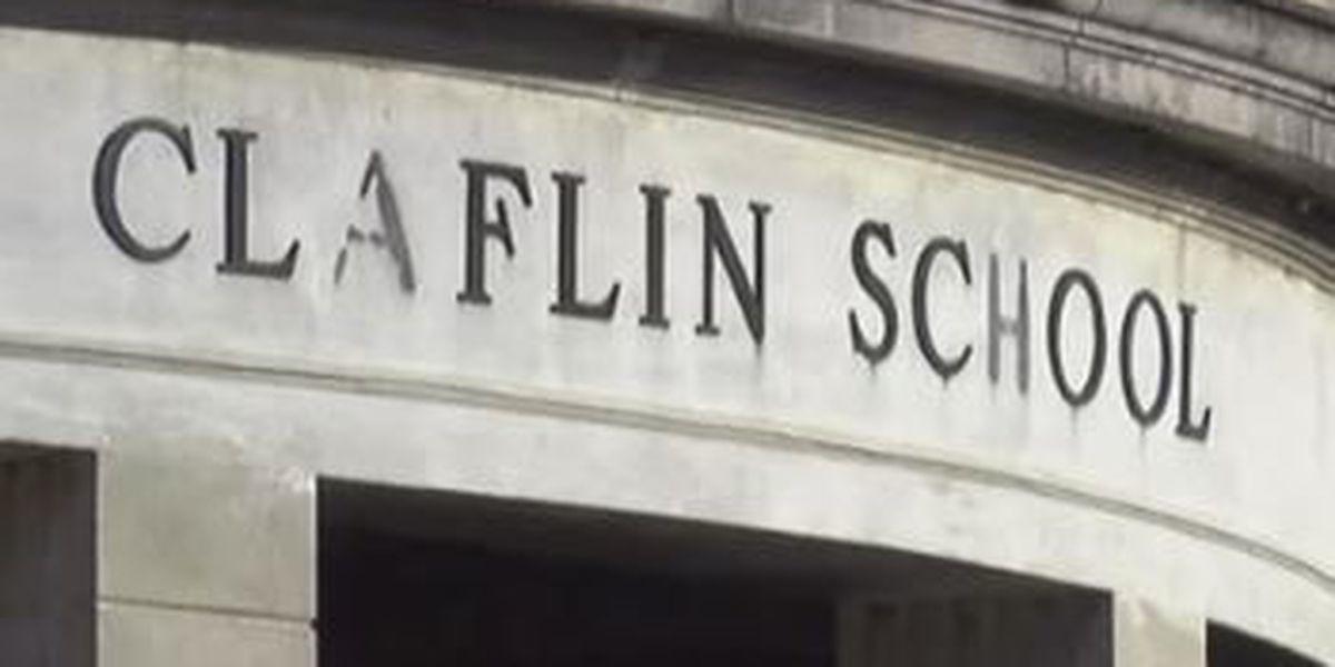 Construction crews prepare to revitalize historic Claflin School building in Columbus