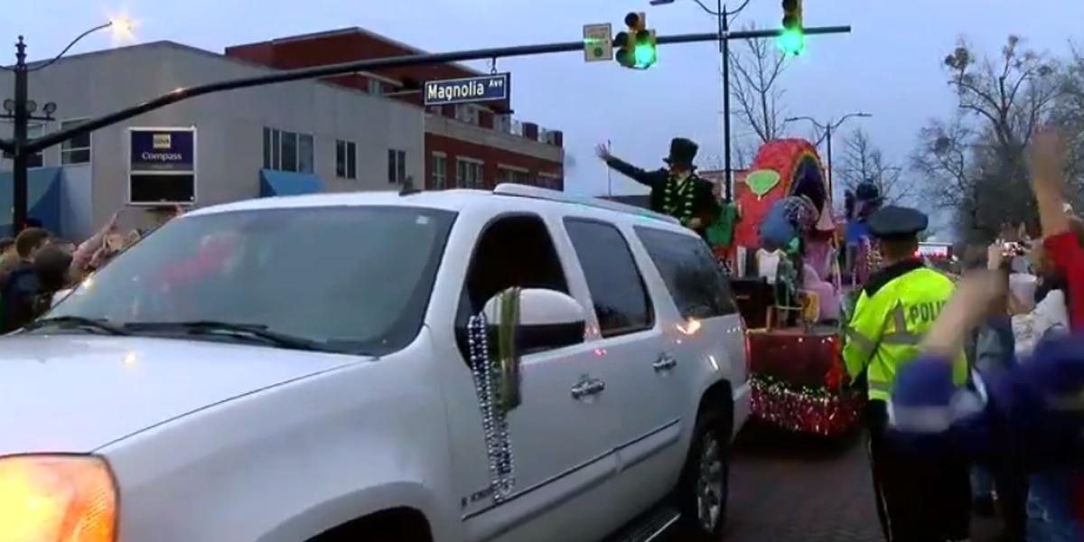 Auburn celebrates Mardi Gras celebration with a parade