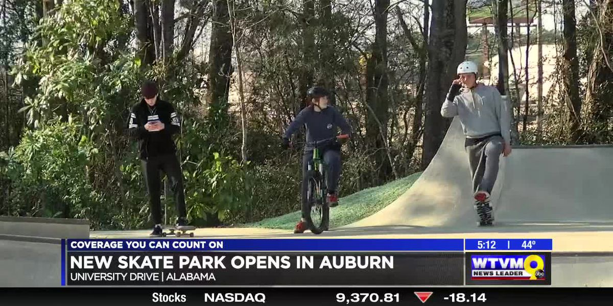 New skate park opens at Indian Pines Golf Course in Auburn