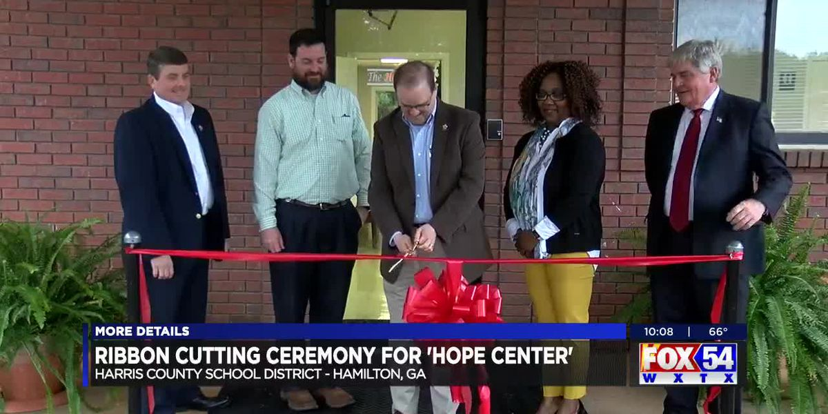 Harris County School District opens new HOPE center to help students, families in need