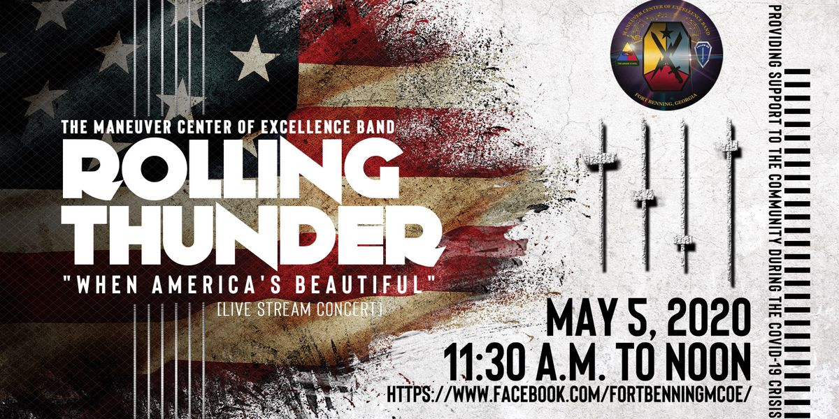 Fort Benning's Rolling Thunder band to hold livestream concert