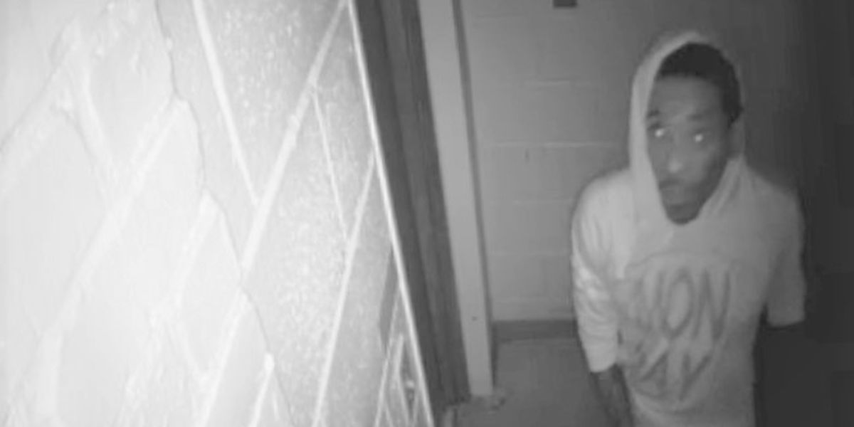 Suspect wanted in Columbus for burglary at church on 8th St.