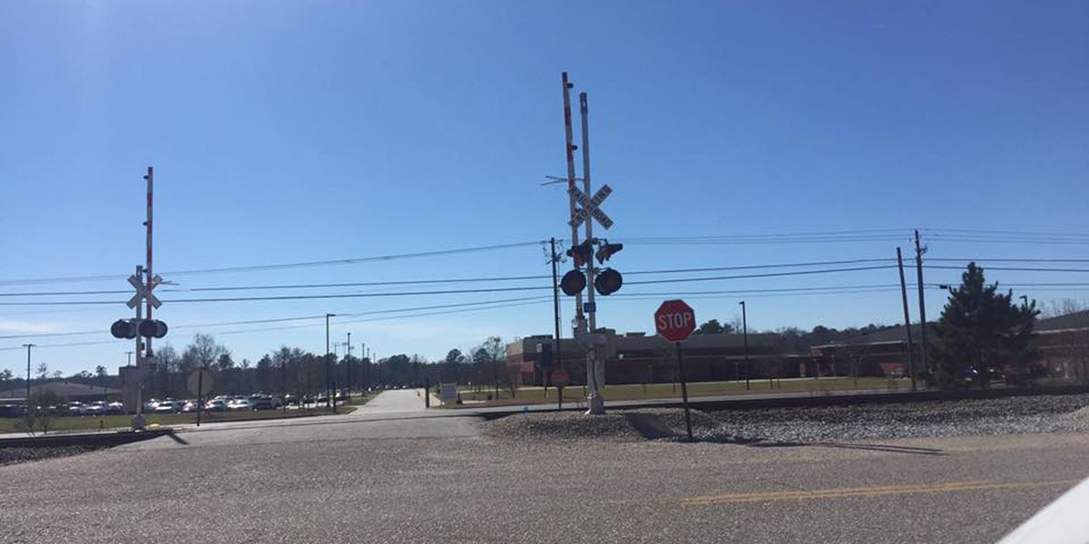 Railroad crossing safety gates installed following several accidents in Smiths Station