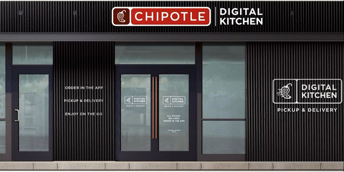Chipotle to open digital-only restaurant