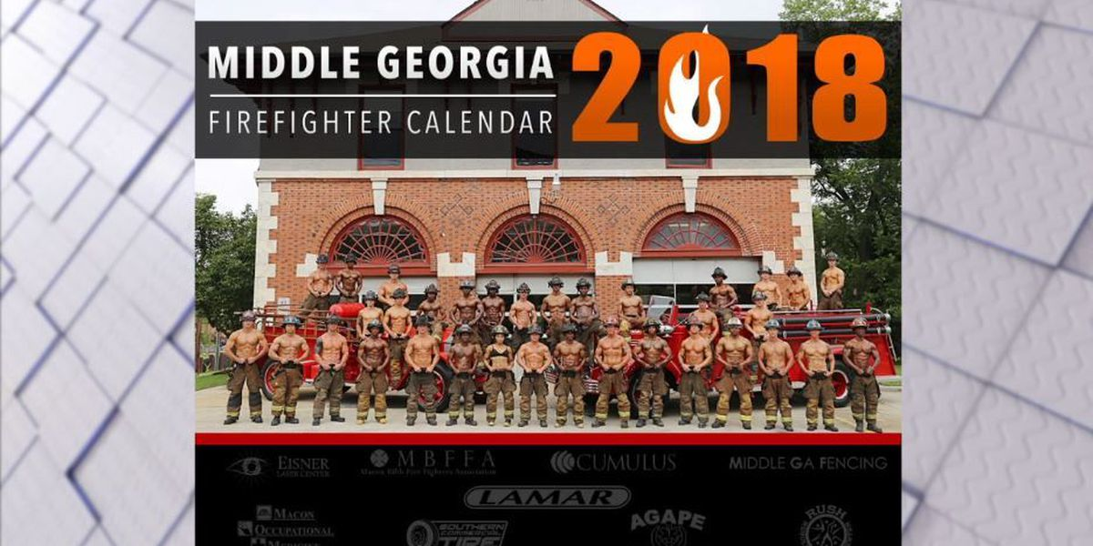 Middle Georgia sexy firefighters bare all for charity calendar