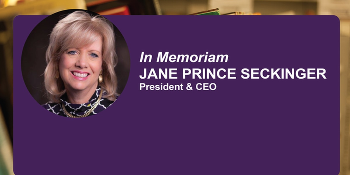 Goodwill Southern Rivers mourns passing of President, CEO Jane Seckinger