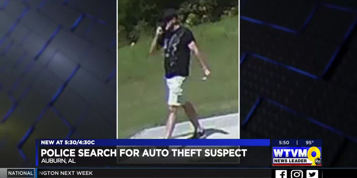 Suspect wanted for stealing a vehicle in Auburn