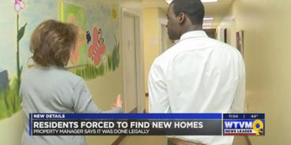 Property manager speaks out on forcing residents to leave with month notice