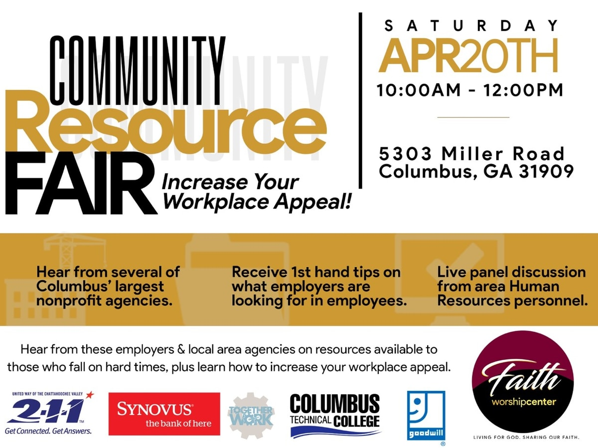 GUEST SEGMENT: Faith Worship Center in Columbus hosting resource fair to help job seekers