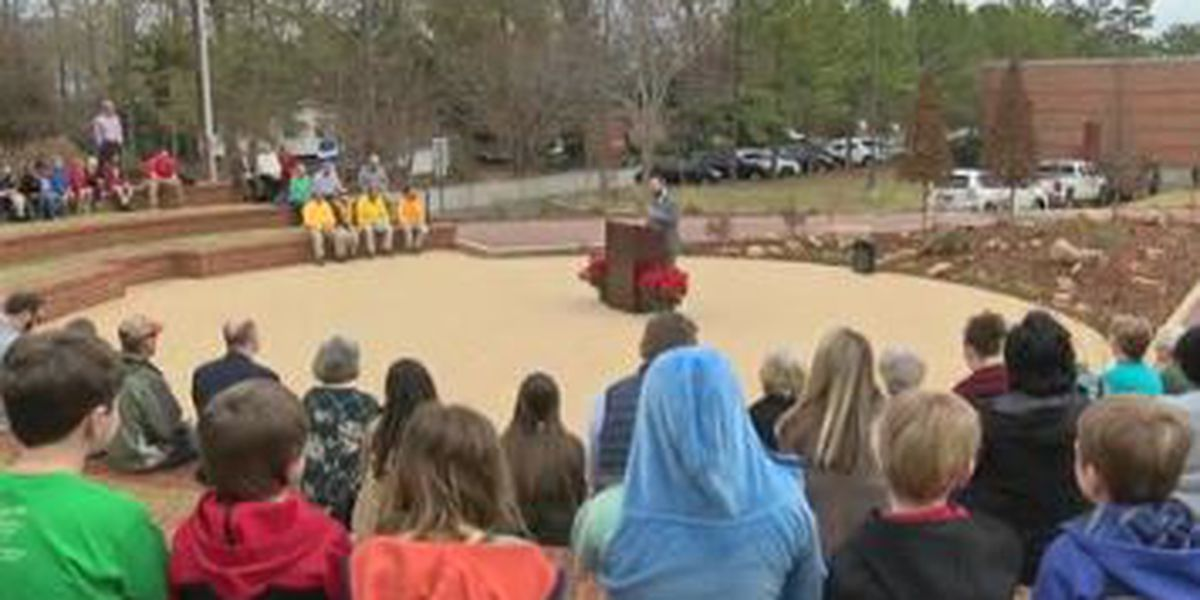 Outdoor classrooms opens at Auburn Public Library