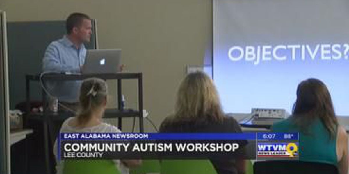 East Alabama group brings awareness to autism and first response with workshop