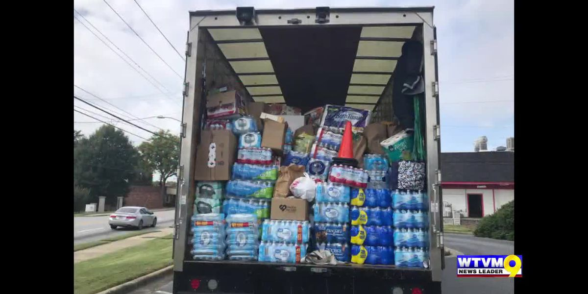 News Leader 9's Hurricane Michael relief drive coverage